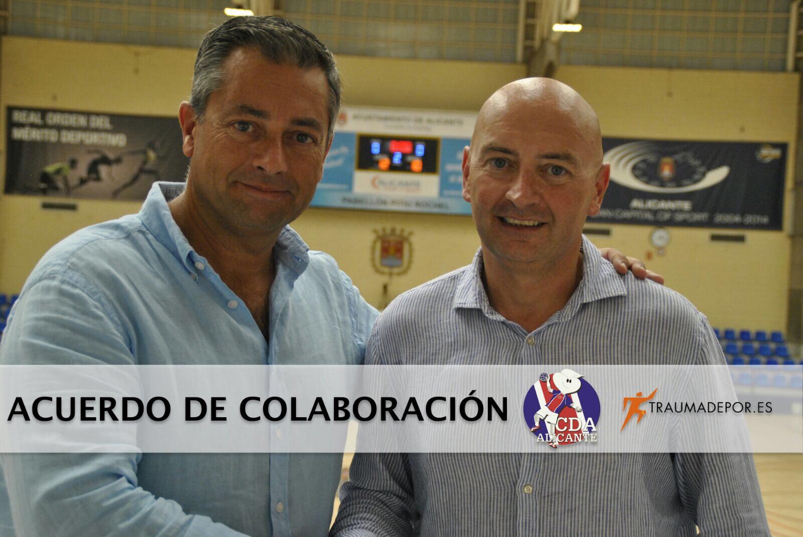 acuerdo-colaboracion-traumadepor-cd-agustinos-alicante